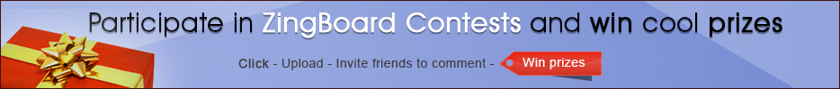 Zingboard Contest Banner – Architect and Interior Design Contest