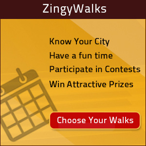 Zingywalk – Architectural Walking Tour, Banner
