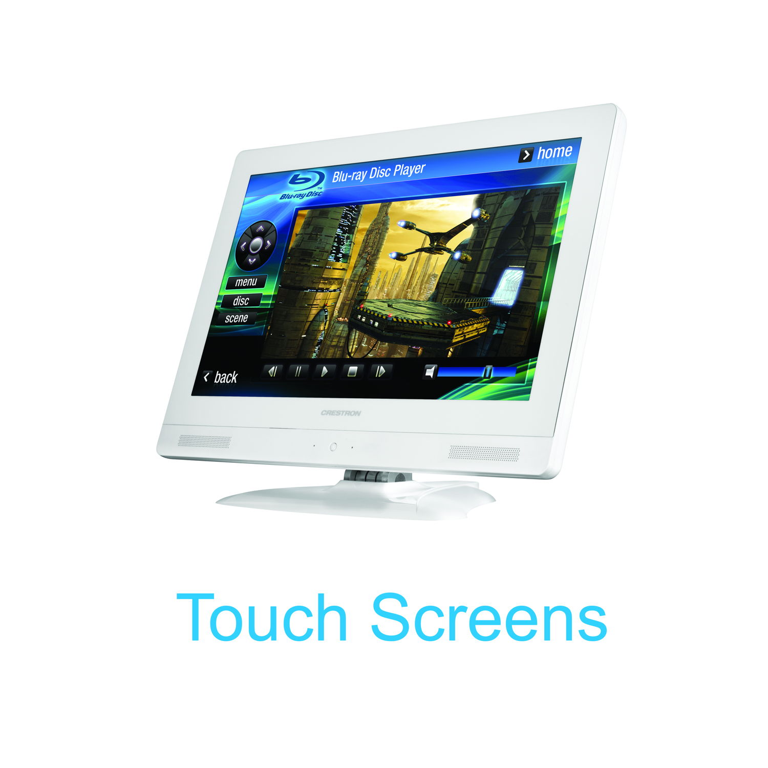 Touch Screen for Home Automation System
