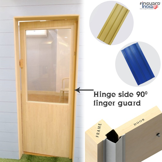 HINGE SIDE 90 DEGREE FINGER GUARD