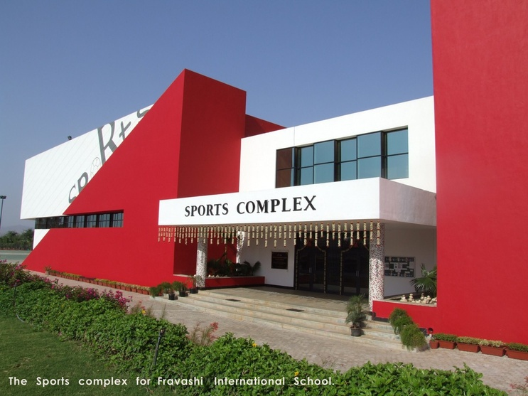 The Sport Complex for fravashi International School