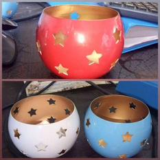 STAR T-LIGHT BOWL
