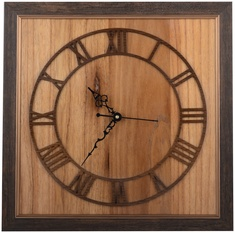 Antique look Wooden Wall Clock