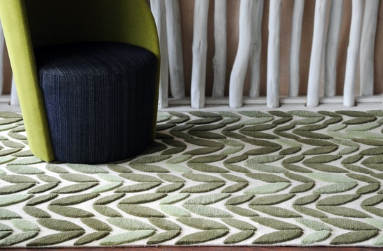 Spring Leaf Hand-tufted Rugs