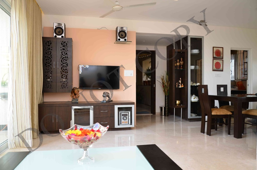 3 bhk flat by sarita mehta interior designer in india for 1 bhk living room interior