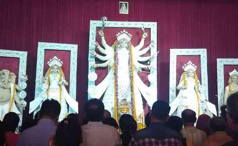 Eco Friendly Durgaj Puja Pandal