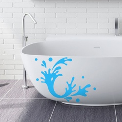Water Splatter Wall Decal ( KC263 )