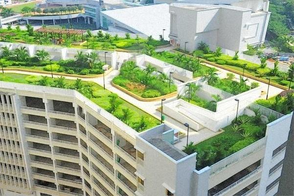Roof Garden Design Idea Source: lushome.com & Roof Gardening Tips Techniques | Roof Garden Design Ideas India