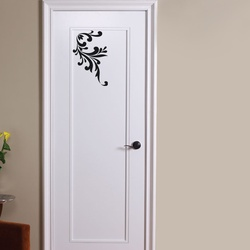 Corner Vine Wall Decal ( KC268 )