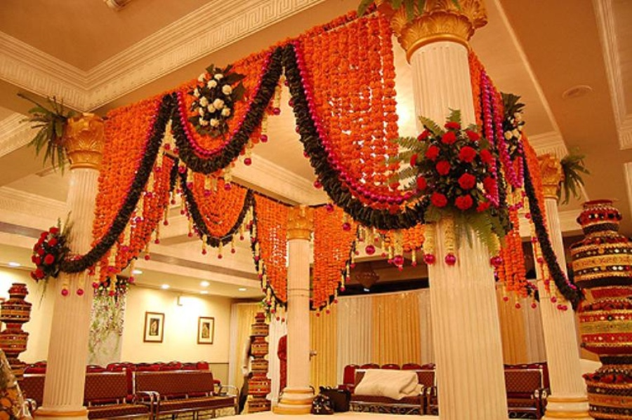 Indian wedding house decoration home decor ideas for indian wedding junglespirit Image collections