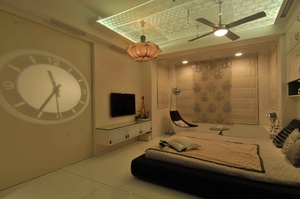 Bedroom with a Mid Eastern Touch