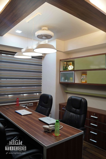 1100 Square Feet Corporate Office Interior Design Project