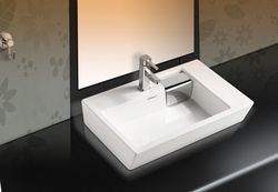 Sestones Gavino White Ceramic Basins