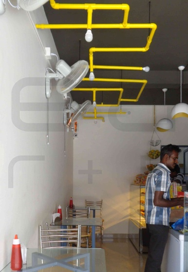 Pappa S Snack Bar Bakery By Eminence Architects Research Design Architect In Kochi Kerala India