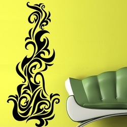 Abstract Flames Wall Decal ( KC081 )