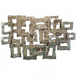 Portals Chrome Plated Wall Decor