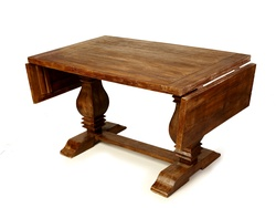 Antique Vintage Salvage Wood Dining Table