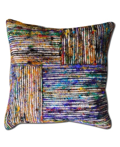 Silk Lane Textured Cotton Cushions