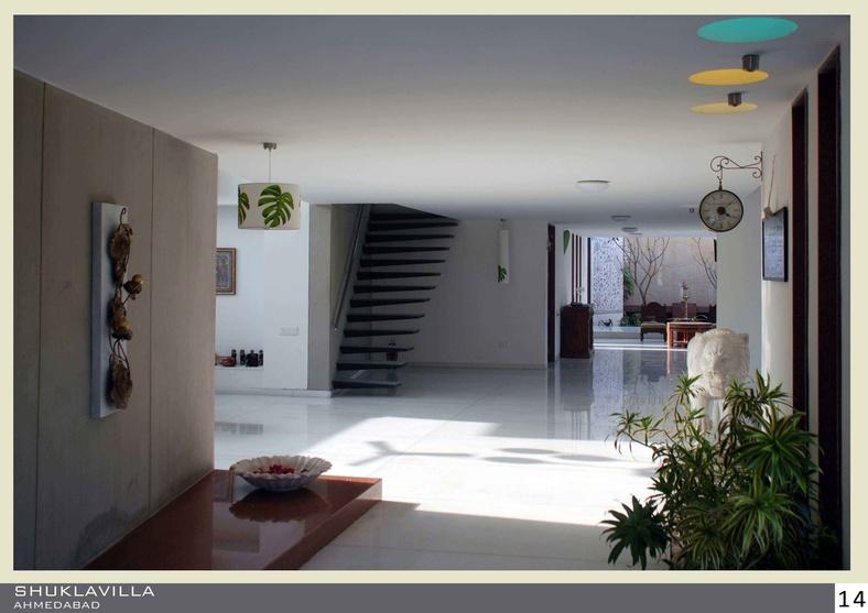 Shukla Residence by Yatin Pandya, Architect in Ahmedabad,Gujarat, India