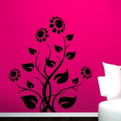Flowers in Bloom Wall Decal ( KC103 )