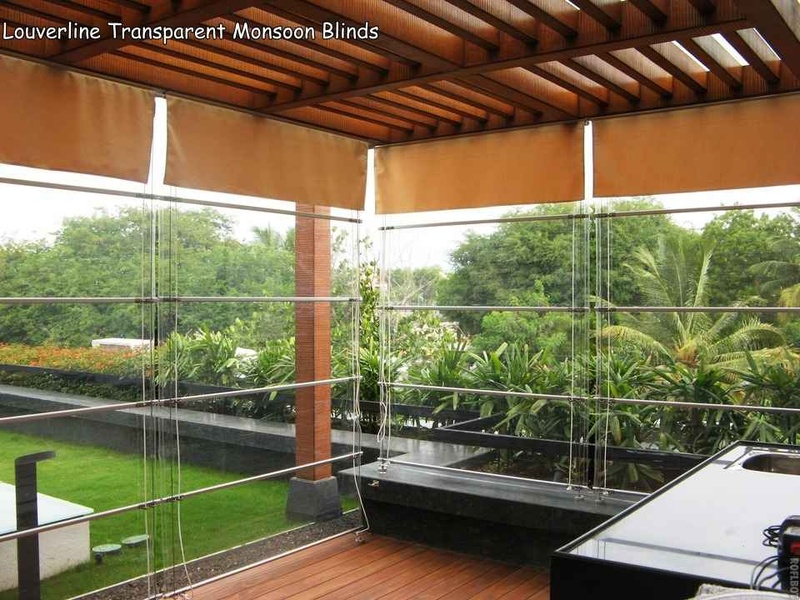 Transparent Monsoon Blinds For Balcony By G P Verma Contractor In