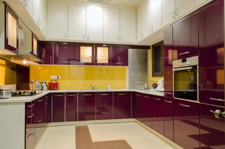 large kitchen interior - Kitchen Interior