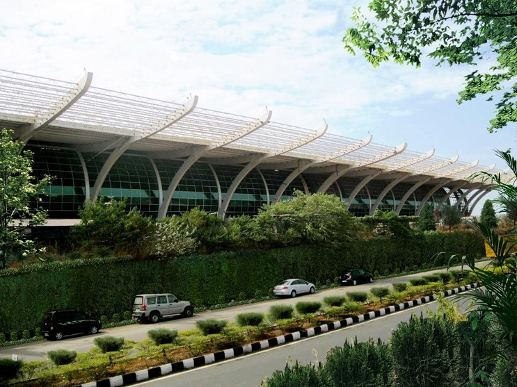 Exterior Walls Of Goa Airport