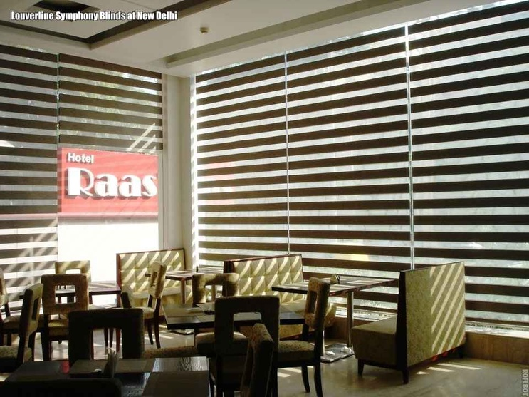 Symphony Blinds in Restaurant Interiors