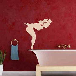 Lets Dive Wall Decal ( KC265 )