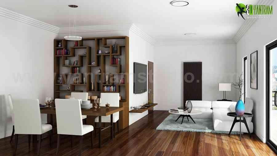 Get the Best Living room 3D Interior Designers