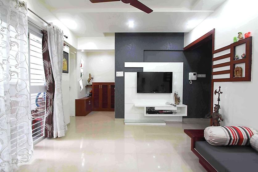 3 BHK interior design in Pune, Residential-Apartments