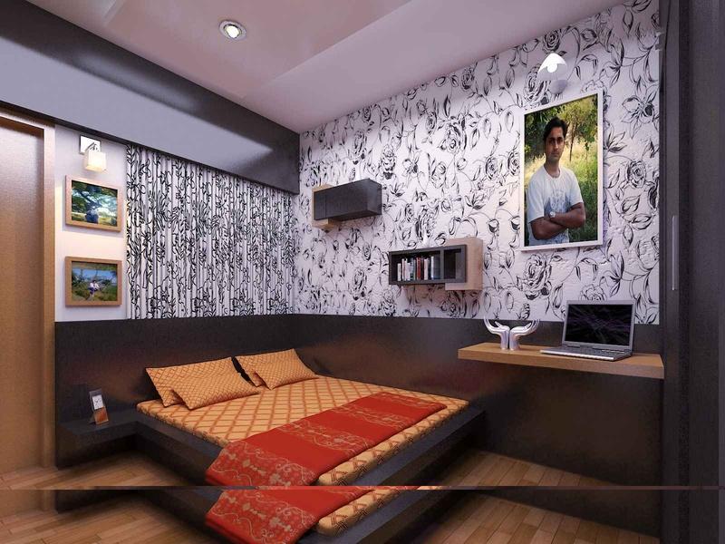 Bedroom design by Kuldeep sharma Architect in