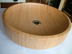 modern wooden sink,wood washbasin