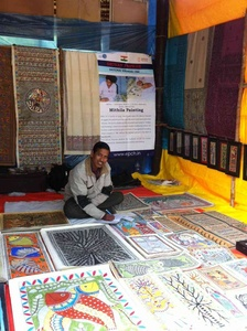No art fair can be complete without Madhubani
