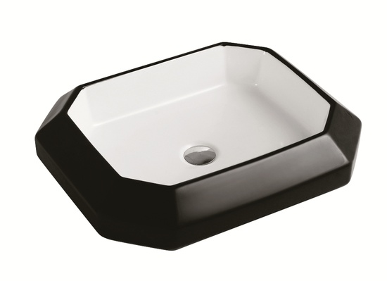 Sestones Barbara White and Black Designer Basins