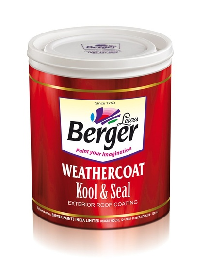 Berger Weathercoat Kool Seal Heat-resistant, Waterproofing Paint