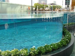 Transparent Acrylic Walls For Swimming Pools