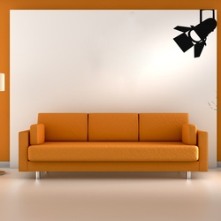 Halogen Light Wall Decal ( KC328 )