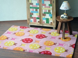 Beetle Hand-tufted Soft Wool Rugs