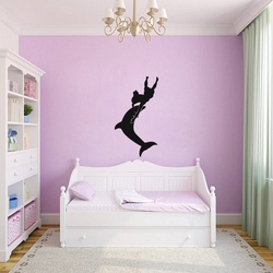 Dolphin Dance Wall Decal ( KC212 )