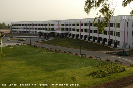 The School building for fravashi International School