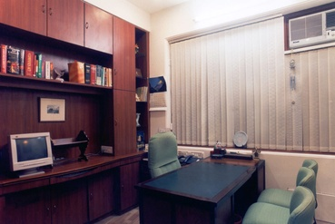 Large Cabin in the Law Firm Office