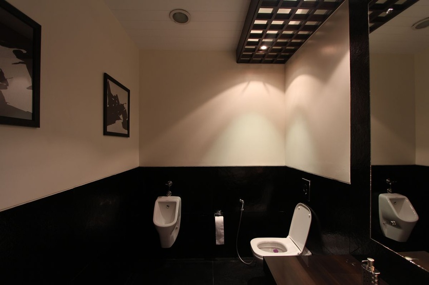 Washroom at the Showroom