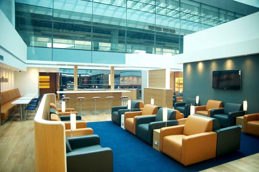 Lounge Interiors For Lufthansa , T3 DIAL, in Delhi International ...