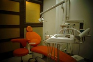 Dental Chair and the surroundings