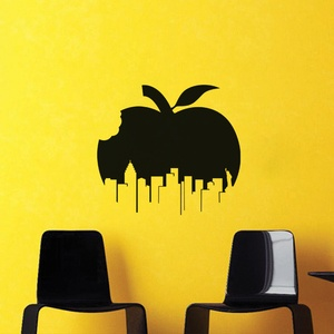Apple City Wall Decal ( KC237 )