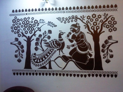 Ashok Vatika Wall Decal ( KC002 )