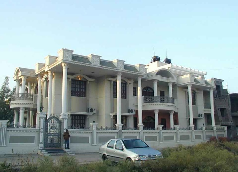 Exterior View Of the Shri Goyal Bungalow