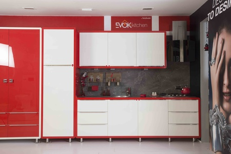 Its a Red and White contrast concept which I designed for Hindware Home Retails Pvt Ltd.