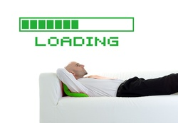 Loading Bar Wall Decal ( KC058 )